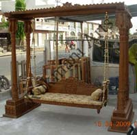 Wooden Indian jhula, Wooden Indian Jhoola, Wooden Indian Carved ...