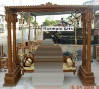 Rukmani arts  wooden swings   code 51