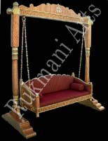 Rukmani arts  wooden swings   code 59