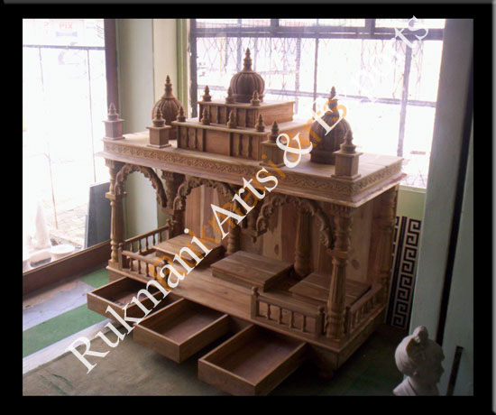 Code 12 Wooden Carved Teakwood Temple Mandir Furniture Models Pictures Wooden Pooja