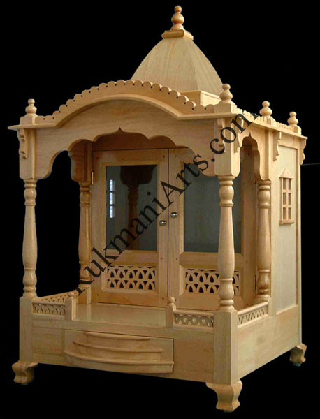 Wood Temple, Mandir designs for home with prices, house Wooden Carved ...