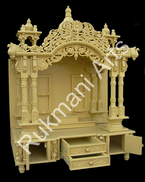 Code 40 Wooden Carved Teakwood Temple Mandir Furniture Models Pictures Wooden Pooja