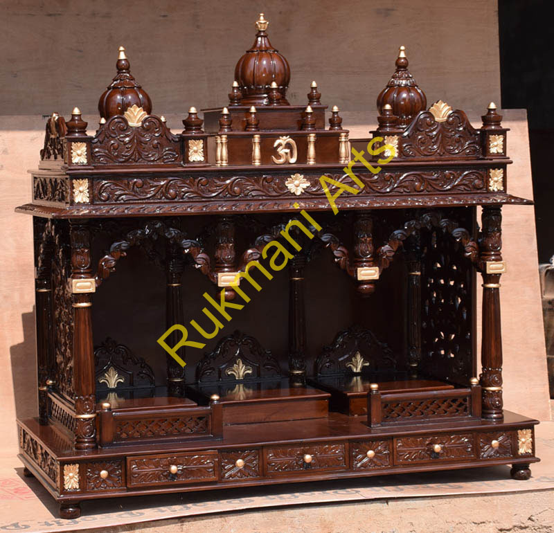 Home Temple Designs Wooden - code 59 wooden carved teakwood temple ...