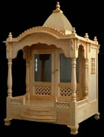 / Mandir, wooden Temple Wooden Temple / Mandir home indian design