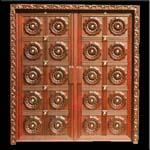 Teak-wood Carved Doors