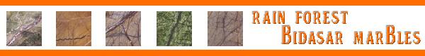 rain forest brown and green bidasar marble